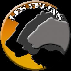 Logo final LES FELINS avec texte