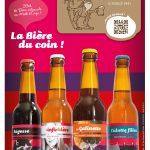 Affiche 4 bières